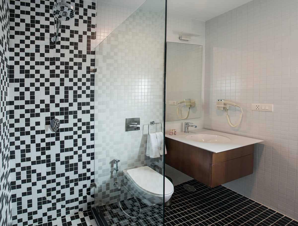 Suite's Toilet well equipped with modern facilities in Dera Masuda, Pushkar, Ajmer, Rajasthan